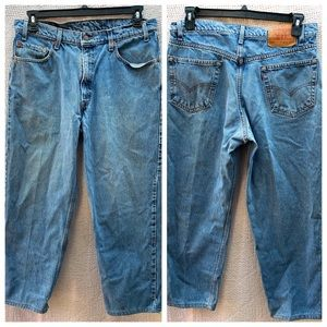 Levi's 550 Relaxed Fit Jeans 36 X 30